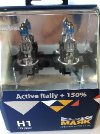 Лампа галогеновая Н 1 12V 55W P14.5s Active Rally +150% (72120AR+150) 2шт, к-т Маяк