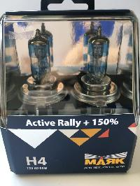 Лампа галогеновая Н 4 12V 60/55W P43t Active Rally +150% (72420AR+150), 2 шт, к-т Маяк