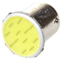 Светодиод T15 24V WHITE COB BA15s P21W(S25) SKYWAY S08202021