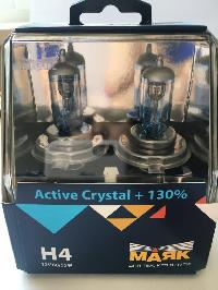 Лампа галогеновая Н 4 12V 60/55W P43t Active Crystal +130% (72420AC+130) 2 шт, к-т  Маяк