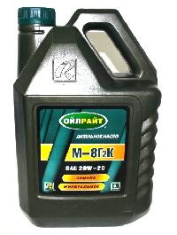Масло моторное М8Г2К,  5 л  OIL RIGHT  (уп.4 шт.)   8118