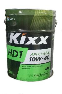 Масло моторное GS Oil Kixx HD1 10w40 CI-4,20л. Synt