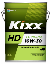 Масло моторное GS Oil Kixx HD 10w30 CF-4,20L SemiSynt (Dynamic CF-4/SG)